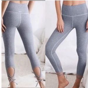 Aerie Chill Play Move Ankle Wrap Leggings medium